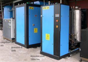 Generatore Azoto idrogeno alta purezza