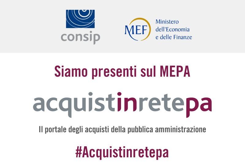 Siamo su MEPA